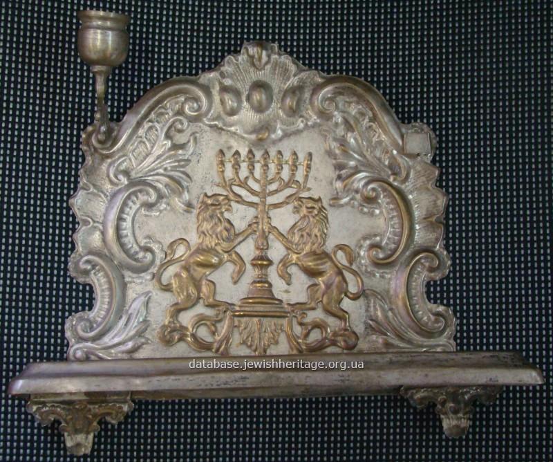 Hanukkah lamp #1